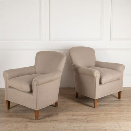 Pair of French Armchairs CH4812755