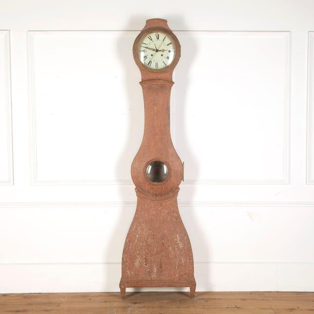 18th Century Swedish Clock in Original Paint DA9013154
