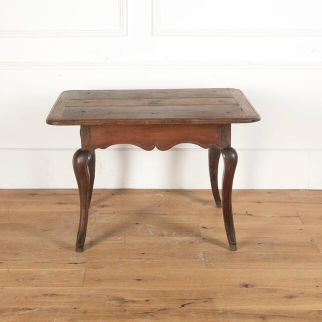 18th Century French Walnut Table on Cabriole Legs CO7512693
