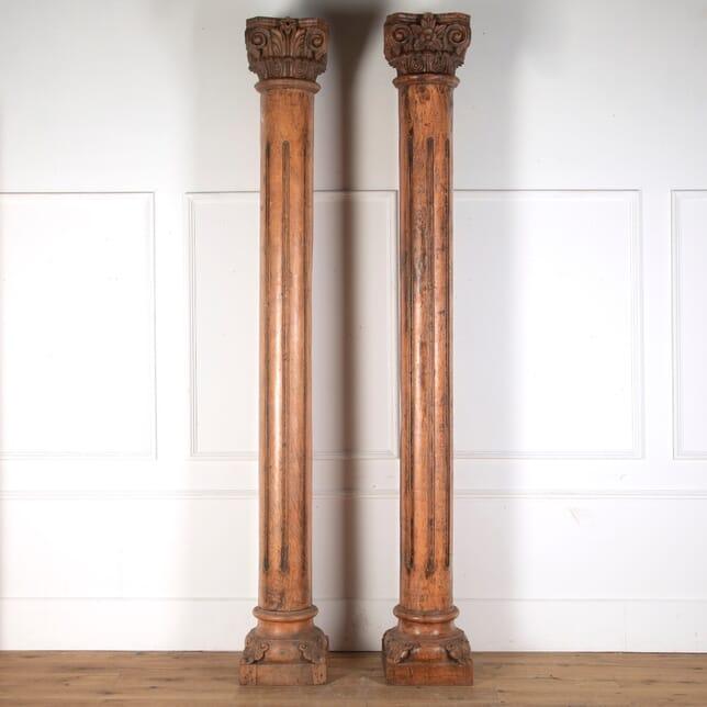 Pair of Grand Scale Columns GA3512955