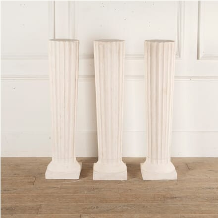 Set of Three English Plaster Plinths GA3513163
