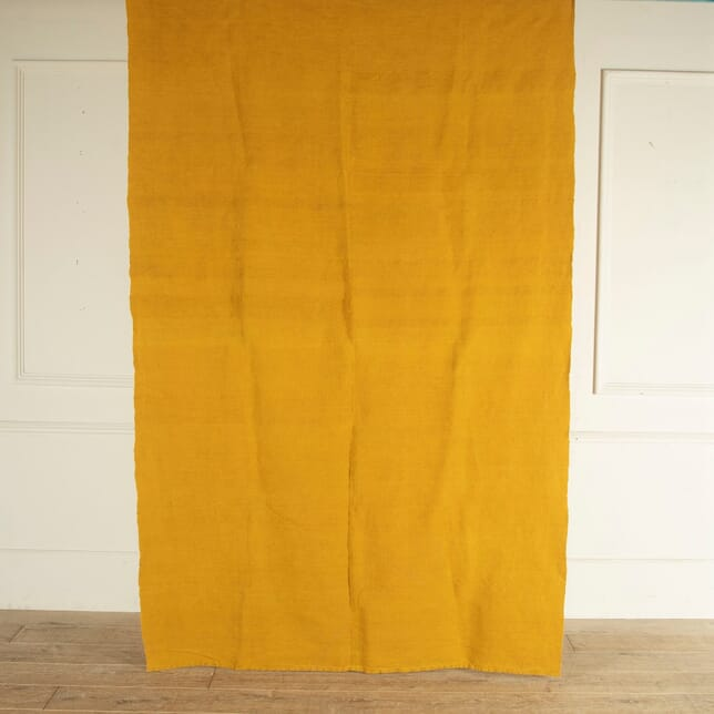 French 19th Century Dyed Linen Sheet RT9012767