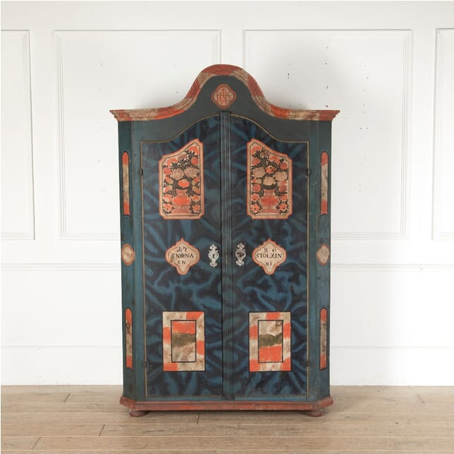 18th Century Painted Armoire BD4512778