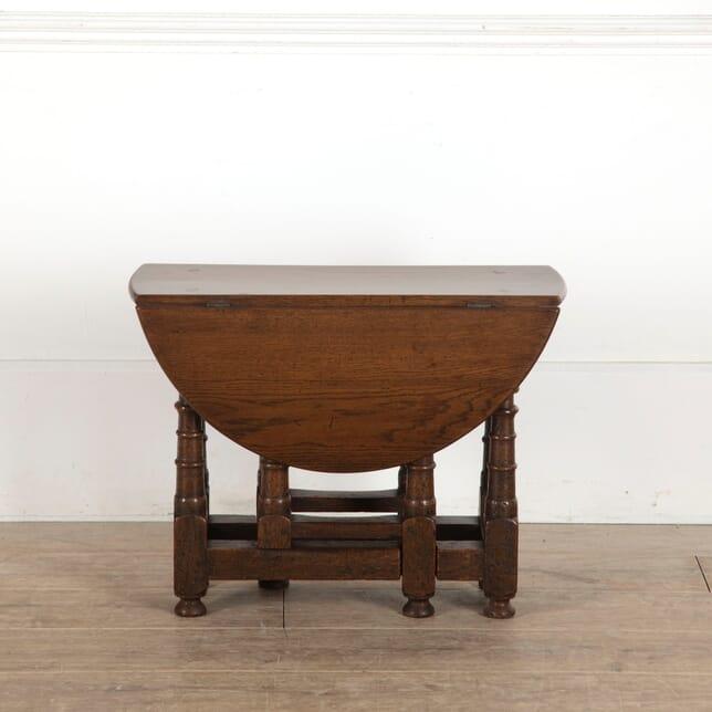 Petite Oak Gate Leg Table CT4312661