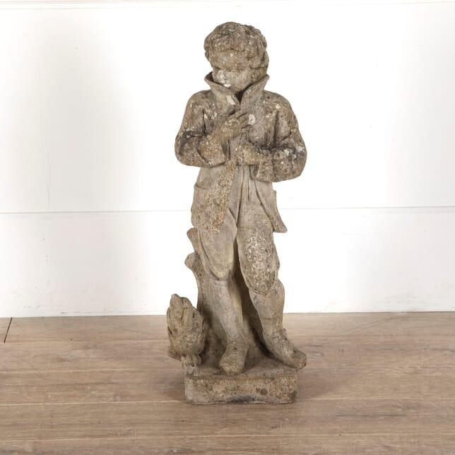 Garden Statue of a Young Man GA4312656