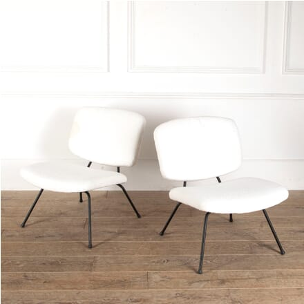 Pair of Low Chairs by Pierre Paulin for Thonet CH2912127