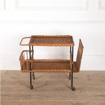 Rattan and Steel Raoul Guys Trolley TS2912101