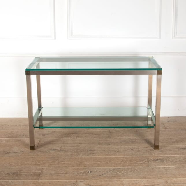 Stainless Steel Console by David Hicks CO2912102