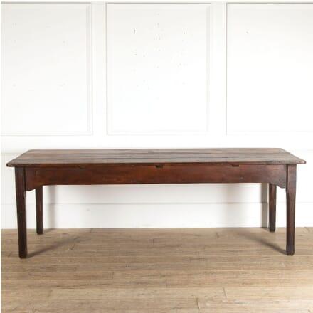 Mid 19th Century Fruitwood Farm House Table DA8812577