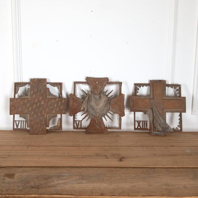 Three Metal Sculptures by Leon Masson GA2912123