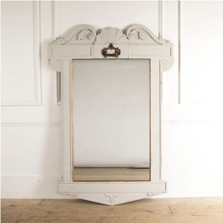 French Art Nouveau Style Large Painted Mirror MI8812566