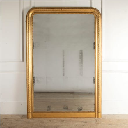 English 19th Century Gilt Framed Overmantle Mirror MI8812384
