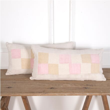 Patchwork Antique Linen Cushions RT4012114