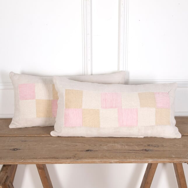 Antique Patchwork Linen Cushions RT4012114