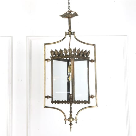 Brass and Bronze Gas Lantern LL4012138