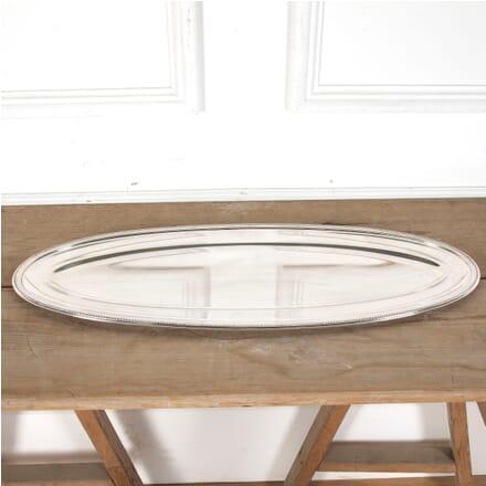 Giant Christofle Oval Silver Plated Serving Platter DA5813283