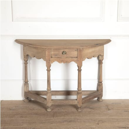 English Bleached Oak Console Table CO0412864