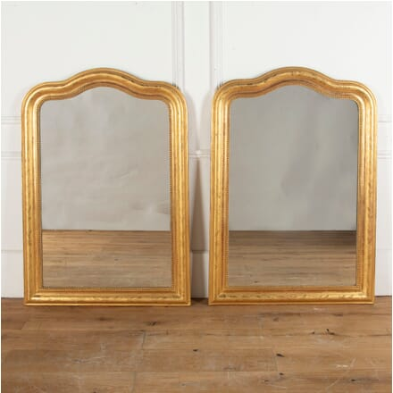 19th Century Pair of Giltwood Mirrors MI0313281