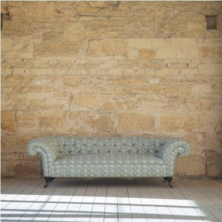 19th Century Howard & Sons Chesterfield Sofa SB0153992