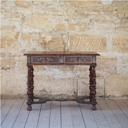 William and Mary Marquetry Centre Table TC278873