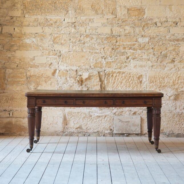 19th Century Regency Mahogany Library Table TC1011620