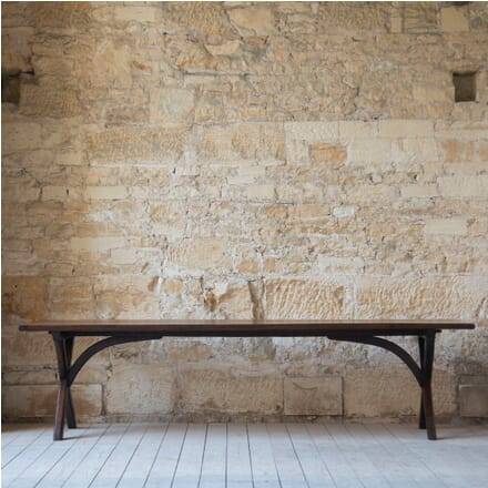 19th Century English Oak Table TD7610599