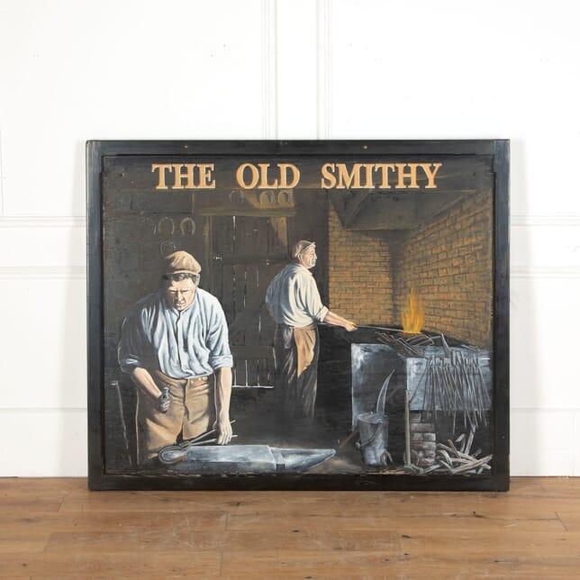 The Old Smithy Pub Sign DA9013070