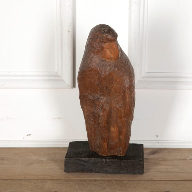 French Carved Wooden Parrot DA3713267