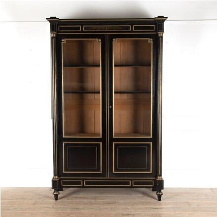 French Ebonised Bookcase BK4812760
