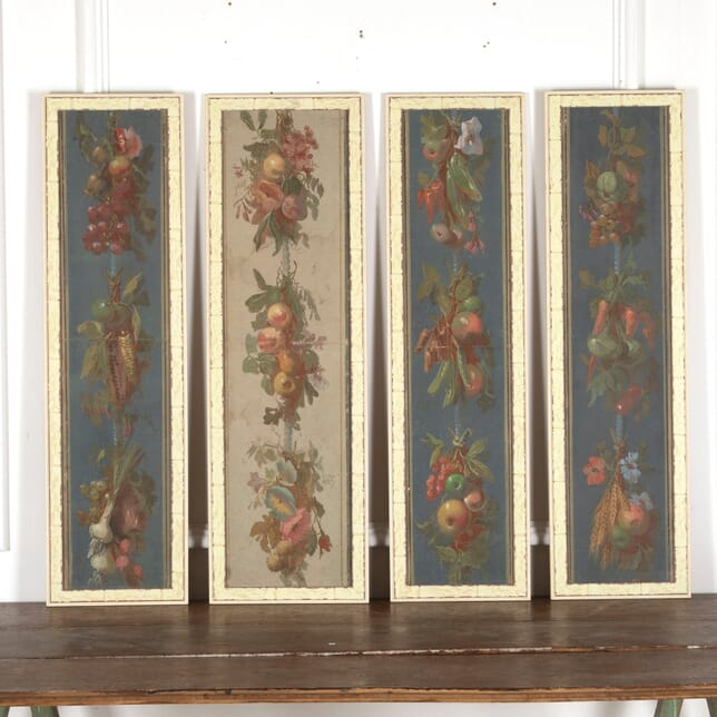 Set Of Four Painted Panels WD2012765