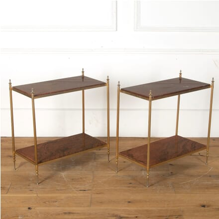 Pair of Brass End Tables TA3513243