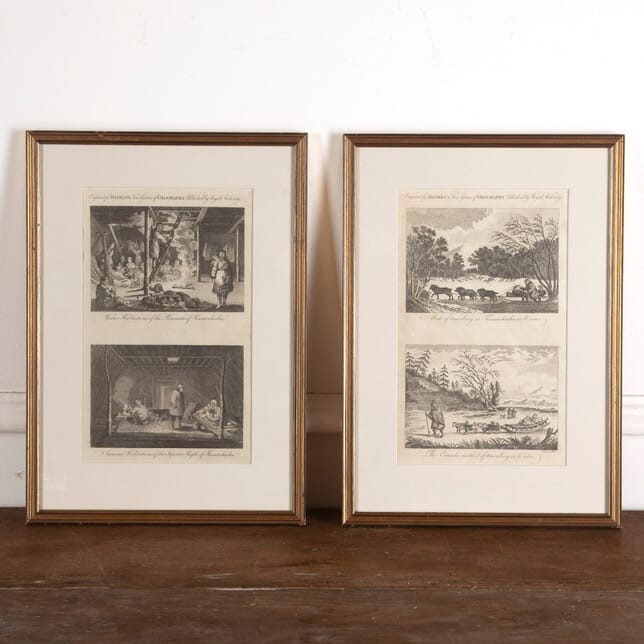19th Century Etchings of the Ostiacks and Kamptschatka WD8813088