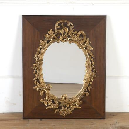French walnut and gilt mirror MI8514115
