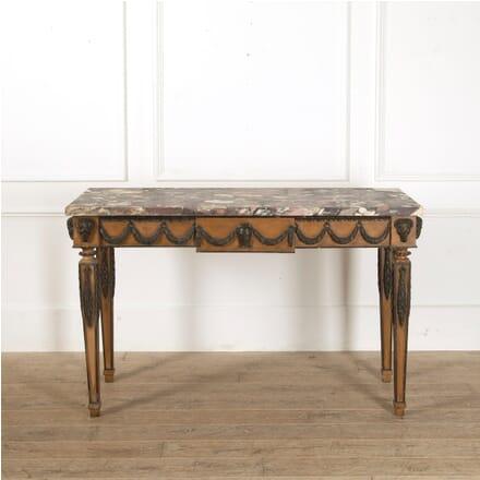 Italian 18th Century Breche Violette Marble Topped Console Table CO4111609