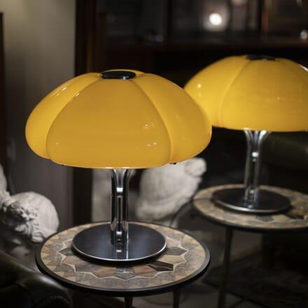 Italian 1970s Quadrifoglio Table Lamp by Gae Aulenti LC8715311
