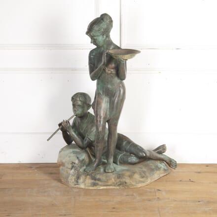 Italian Bronze Fountain GA4015703