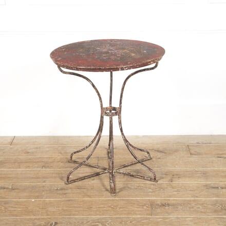 Italian Iron Bistro Table GA1516519