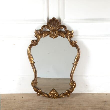 Italian Carved Wood Gilt Mirror MI4511019
