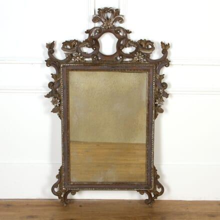 Italian Carved Wood Mirror MI7517401