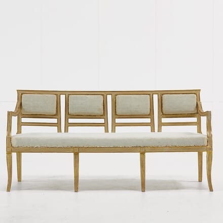 Italian Gilt and Painted Sofa SB068923