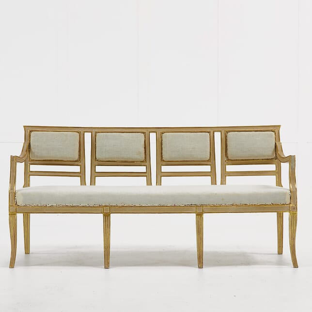 Italian Gilt and Painted Sofa SB068923
