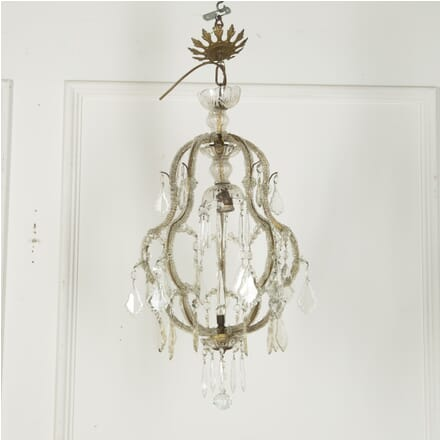 Italian Glass Beaded Chandelier LC759816