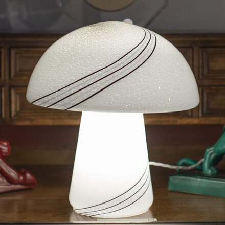 Italian Murano Glass Mushroom Lamp by Vistosi LL8715314