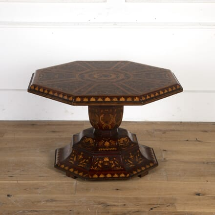 Italian Octagonal Coffee Table CT7913589