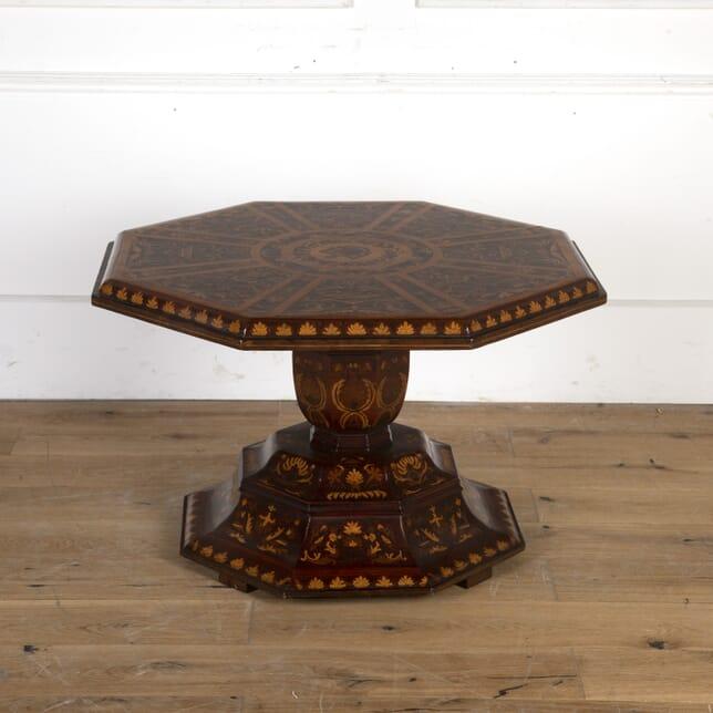 Italian Octagonal Coffee Table CT7913589
