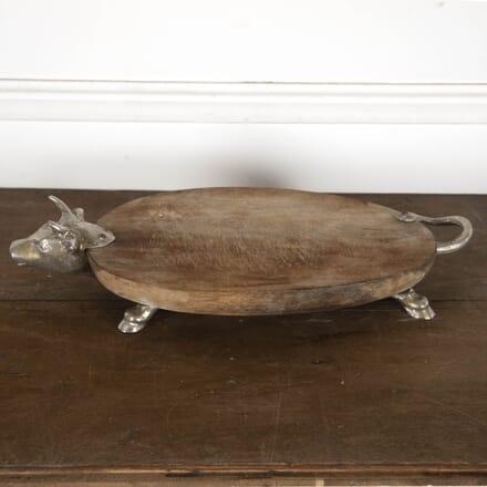Italian Silver Bull Cheese Board DA0213527