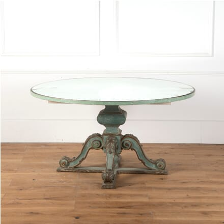 Italian Table with Mirrored Top TC9910815