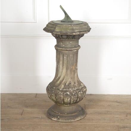 James Pulham Piggotts Manor Terracotta Sundial GA0915580
