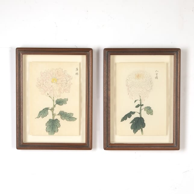 Pair of Japanese Woodblock Prints WD7616093