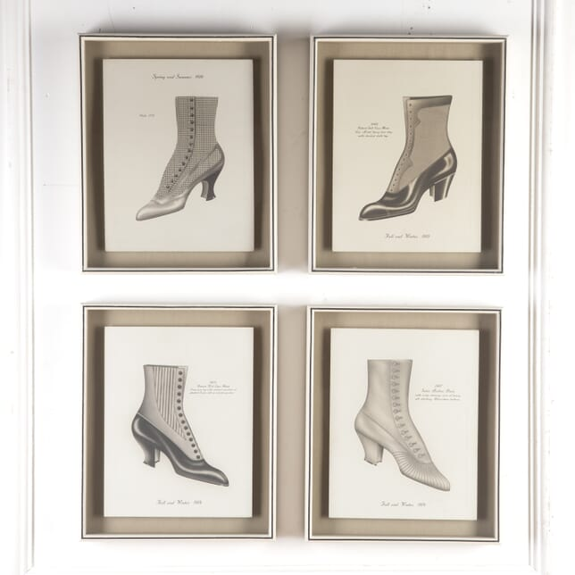 Set of Jazz Age Lithographed Shoe Designs WD7614910